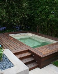 Jacuzzi | pools for small backyards | Pinterest