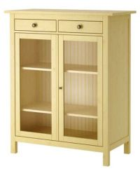 Hemnes-Yellow-Linen-Cabinet-from-IKEA | OrganizedSpaces ...