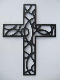 Cross Metal Wall Art 12 Inches