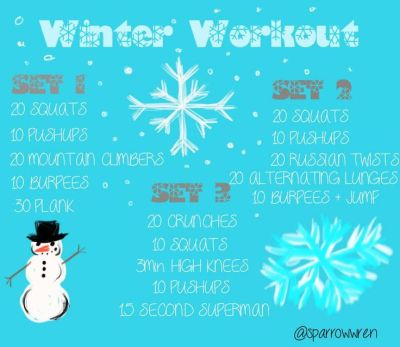 8 Winter Workouts to Stay Fit This Holiday Season