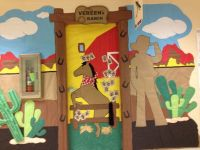 Western / Cowboy theme door | Classroom Decoration Ideas ...