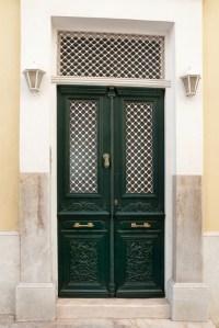 front door, dark green | ...nock nock nock??? (colours in ...