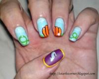 Cinderella Nails | DISNEY NAILS | Pinterest