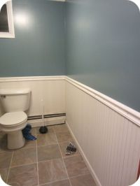 Bathroom wainscoting | For the Home | Pinterest