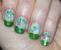 Tinkerbell Nails | www.imgkid.com - The Image Kid Has It!