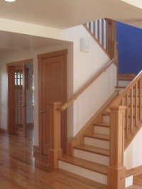 Craftsman Style Staircase Design | Staircases, Railings ...