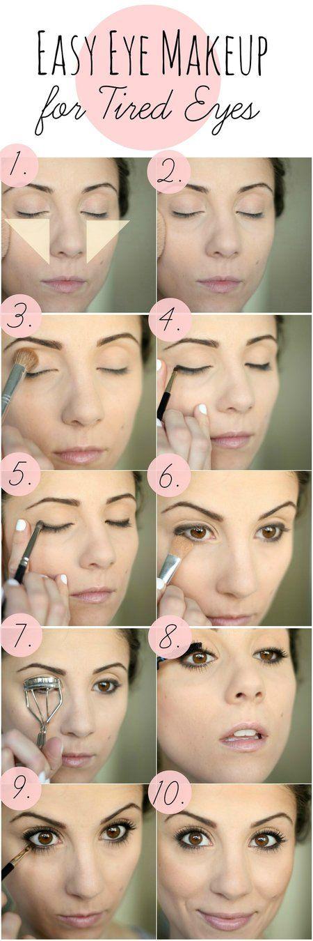 Easy Eye Makeup for Tired Eyes