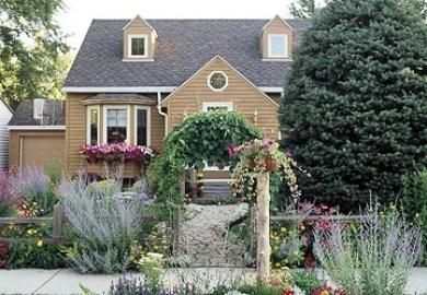 Front Yard Sidewalk Garden Ideas Better Homes Gardens
