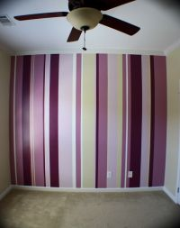 Stripe Wall Painting Ideas