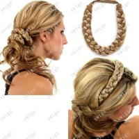 Braid Hair Band | hairstyles | Pinterest