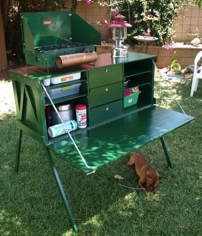 Camp Kitchen Box  Outdoors  Pinterest