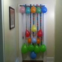 Birthday door decoration