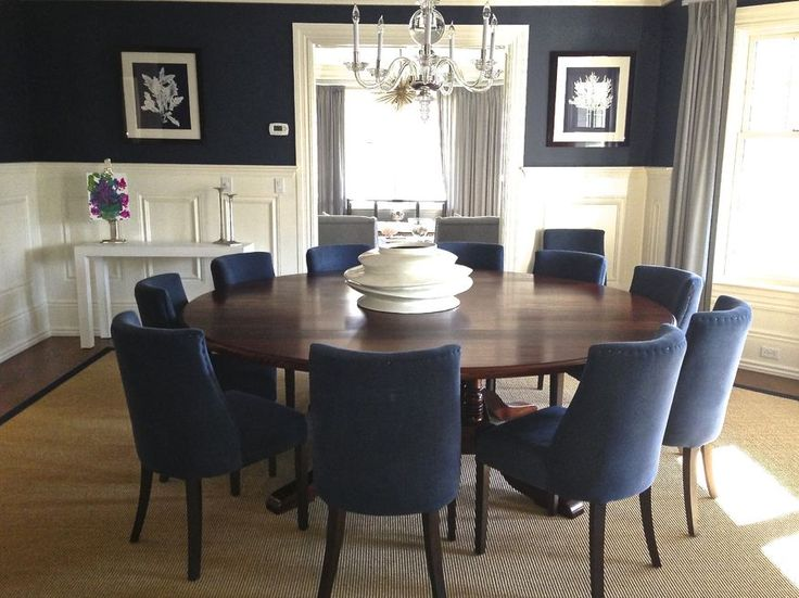 Navy Dining Room  For the Home  Pinterest