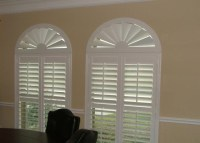 Arched Window Covering