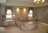 Old-Hollywood style master bedroom | Alcobas de ensueos ...