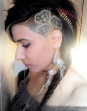 warrior princess hairstyles diamond