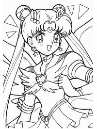 Sailor moon coloring pages | Cartoon -Sailor moon | Pinterest