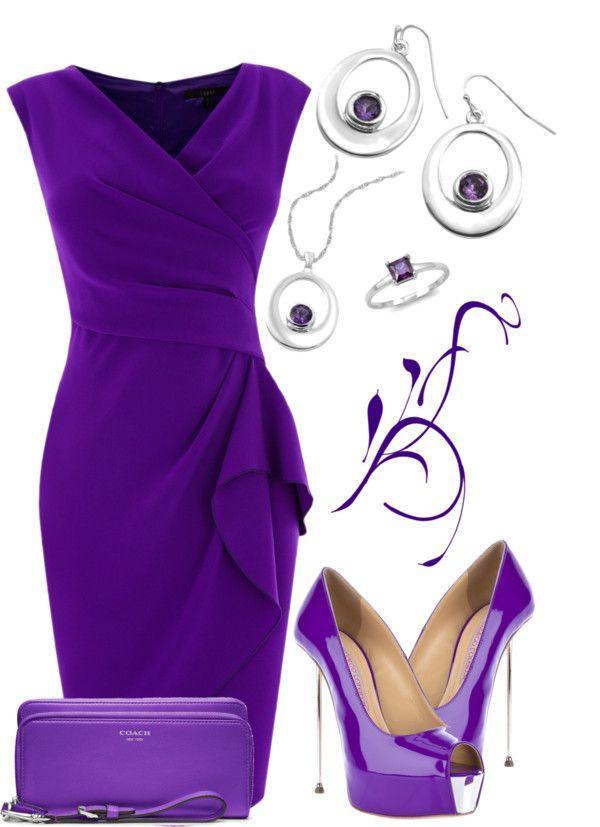 """Purple & Silver"""