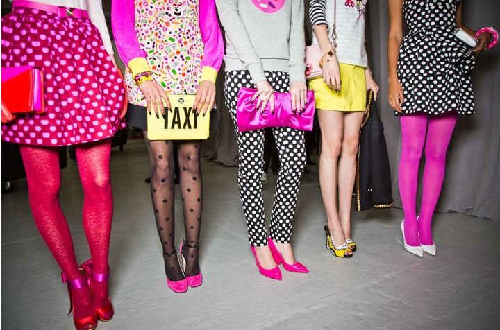 Kate Spade Fall 2013 fashion show styled by the one and only Brad!
