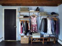 Open-closet in the master bedroom | A DIY HOME DECOR BOARD ...