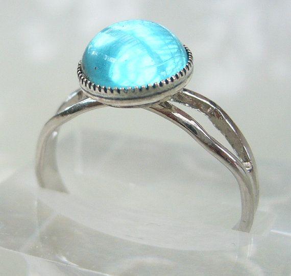 MAKO Mermaid Inspired Adjustable Mermaids Moon Pool Ring