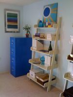 Steps for painting a file cabinet
