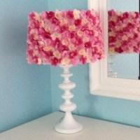 DIY Silk flower lamp shade | Random | Pinterest