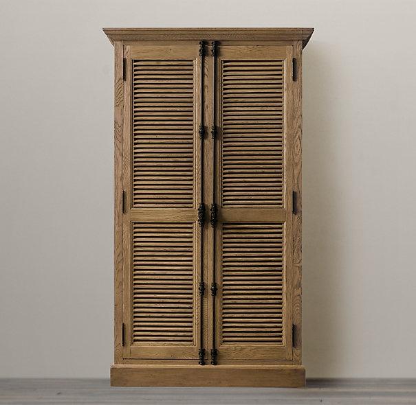 Restoration Hardware shutter cabinet  For the Home