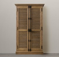 Restoration Hardware shutter cabinet | For the Home ...