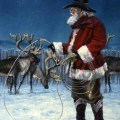 Cowboy santa is that you pinterest