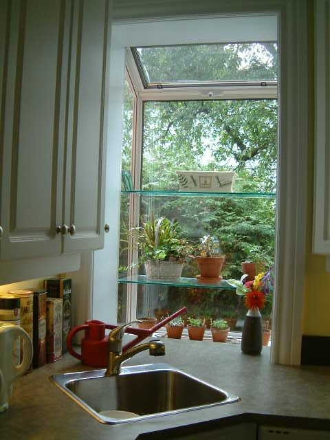 Greenhouse Kitchen Window  Gates Windows Doorways  Pinterest