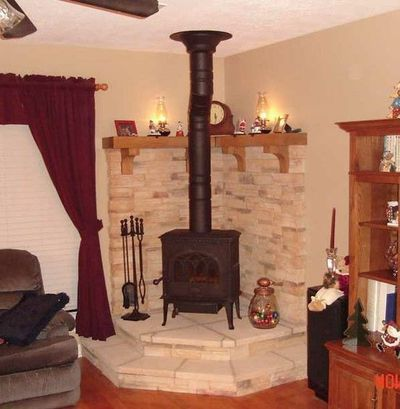Mantle ideas for wood stove.