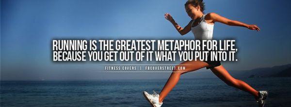 Running Metaphor Fitness Sayings too Pinterest