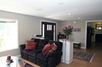 Creating foyer in open living room | For the Home | Pinterest