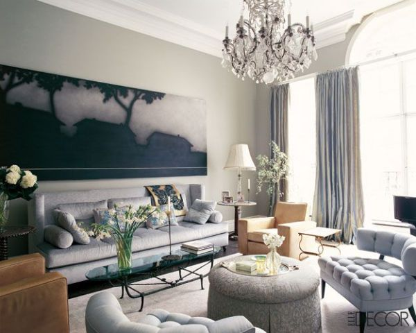 elle decor living room ideas elle decor, living room, tufted chairs | Interiors: Living & Lounging…