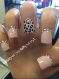 Cheetah Print Nail Design | Nail designs instagram ...
