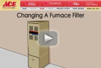 Changing A Furnace Filter | Heating Plus+ | Pinterest