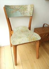 Decoupage Chair | DIY Inspiration | Pinterest