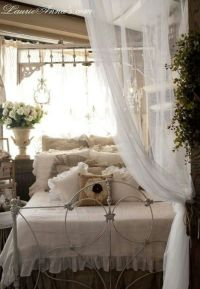 romantic country bedroom | COTTAGE CHIC | Pinterest