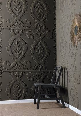Painted Textured Wallpaper