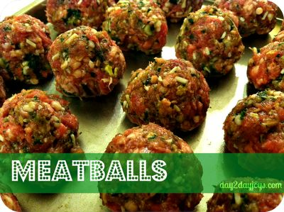 The Best Meatballs Ever {Make Ahead Freezer Cooking}