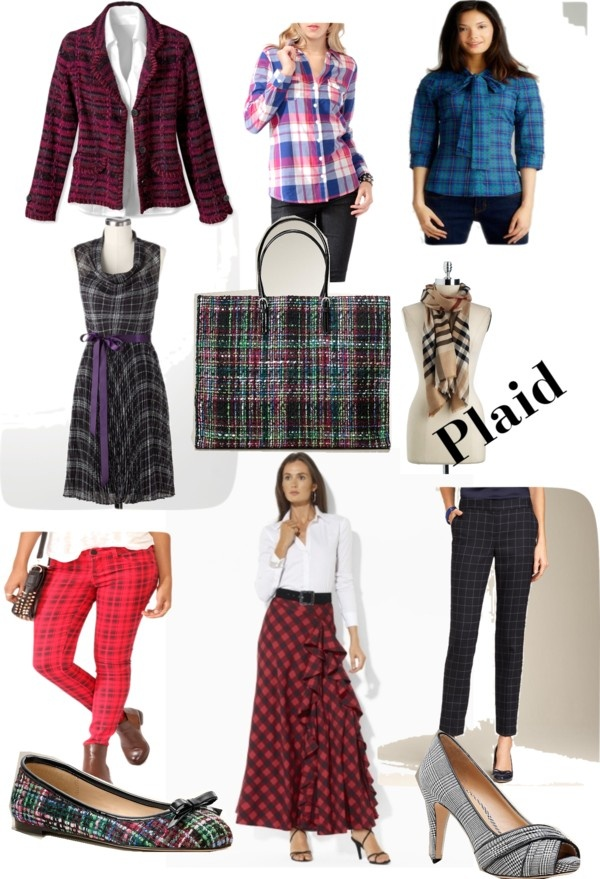 Fall 2012 Runway Trends - Plaid