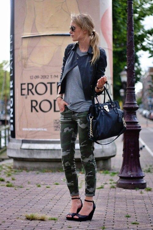 Camo skinnies . LOVE it! @Kirsten Wehrenberg-Klee Wehrenberg-Klee Lyle!!!!
