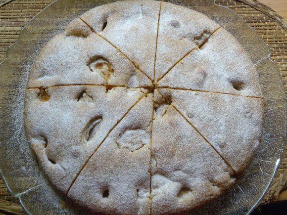 Aprikosen - Nuss - Kuchen