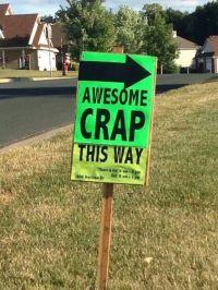 funny garage sale sign... | Garage Sale / Antique Stuff ...