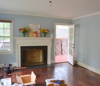 Another Benjamin Moore blue - Yarmouth. | Living Room ...