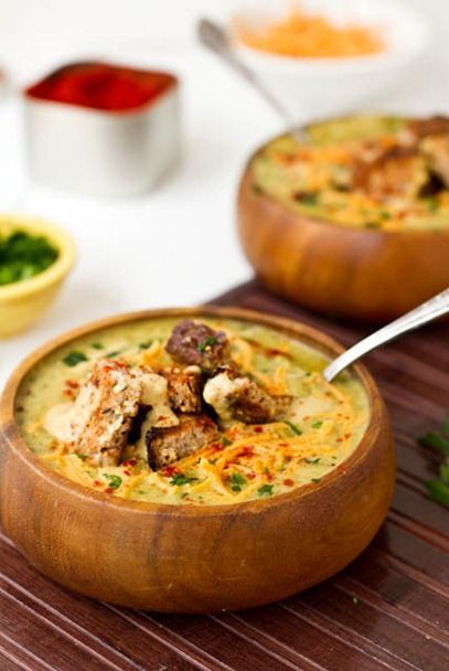 7 Super Soups for Meatless Monday // herbivoretriathlete.com #vegan #meatlessmonday #soup
