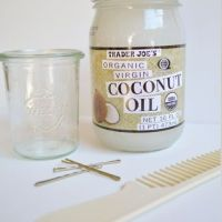 L'huile de noix de coco ou le masque pour cheveux miraculeux