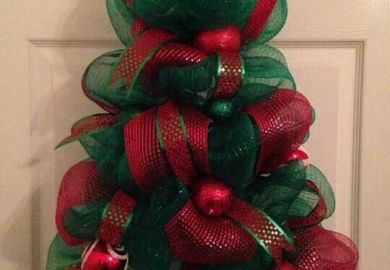 Mesh Christmas Tree Instructions