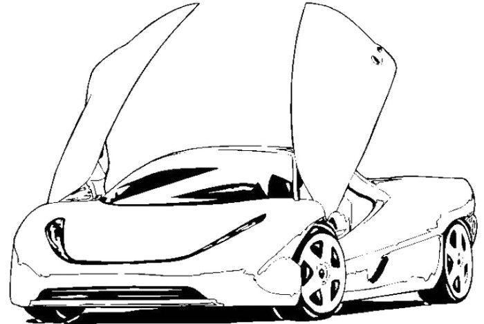 Sport Cars Pictures Koenigsegg Ccxr Trevita Car Wallpaper